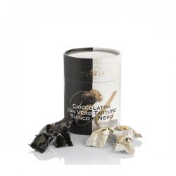 BLACK AND WHITE TRUFFLE CHOCOLATE BONBONS